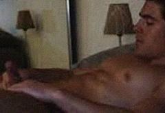 Zac Efron jerk off