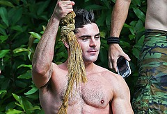 Zac Efron nude and sexy