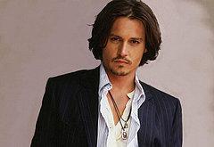 Johnny Depp naked