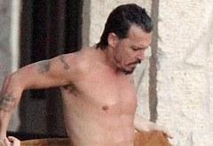 Johnny Depp oops