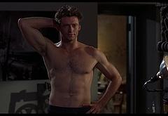 Hugh Jackman abs naked butt