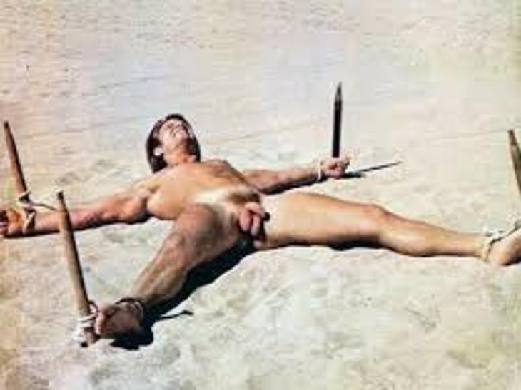 Hugh Jackman naked penis and big balls