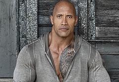 Dwayne Johnson shirtless