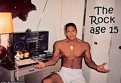 Dwayne Johnson leaked nude photos