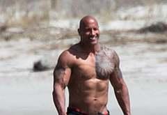 Dwayne Johnson outdoors male celebrities