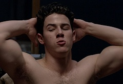 Nick Jonas striptease