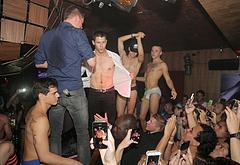 Nick Jonas drunk public nudity