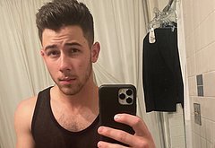Nick Jonas nude selfie icloud