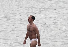 Jude Law shirtless sexy