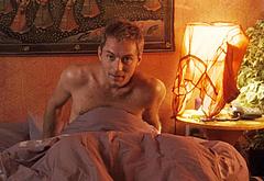 Jude Law shirtless