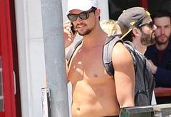 Taylor Lautner bulge oops pics