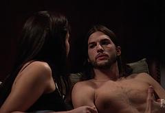 Ashton Kutcher masturbating