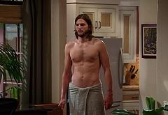 Ashton Kutcher naked penis male