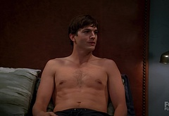 Ashton Kutcher nude and sexy