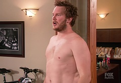 Chris Pratt shirtless video