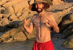 Jared Leto nude video