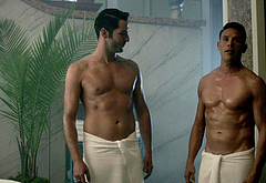 Tom Ellis gay naked scenes
