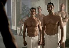 Tom Ellis gay nude orgy
