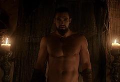 Jason Momoa male celeb scenes