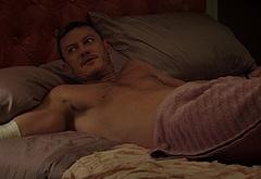 Luke Evans frontal nude scenes