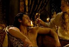 Luke Evans nudes movie
