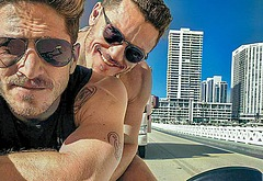 Luke Evans gay porn leaks