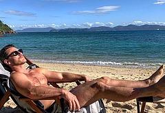 Luke Evans nude shots