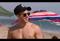 Cody Christian shirtless scenes