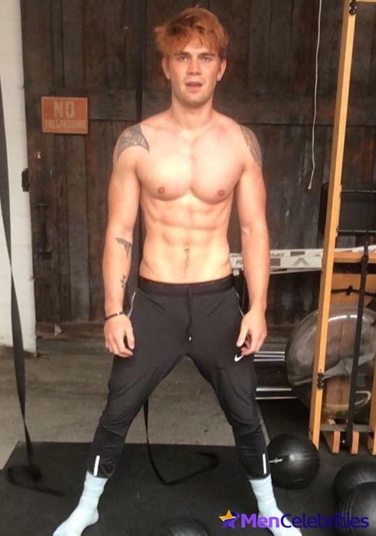KJ Apa Shirtless   Fit Males Shirtless & Naked