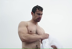 Theo James nude