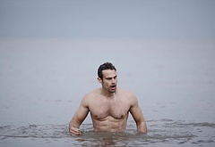 Theo James shirtless scenes