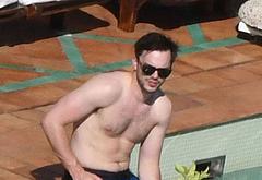Nicholas Hoult shirtless
