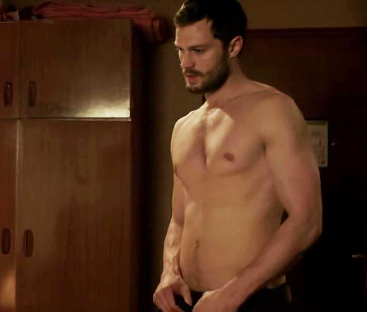 Jamie Dornan shirtless scenes