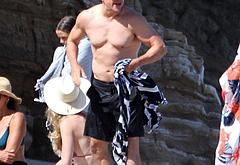 Matt Damon oops beach