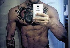Conor McGregor nude selfie