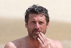 Patrick Dempsey naked beach