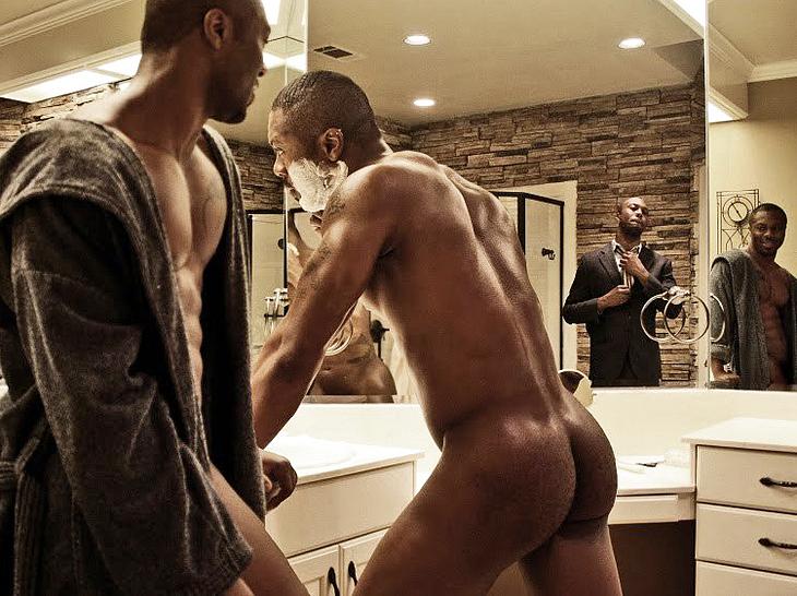Idris Elba ass scenes