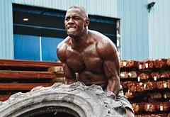 Idris Elba muscle