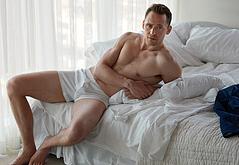 Tom Hiddleston naked shots