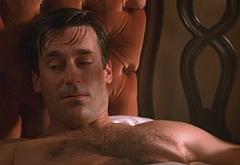 Jon Hamm shirtless movie scenes
