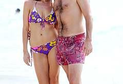 Jon Hamm beach naked