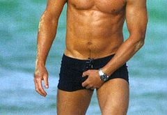 Daniel Craig oops bulge