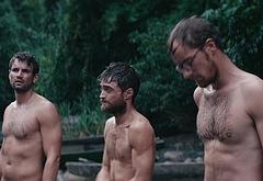 Daniel Radcliffe shirtless movie