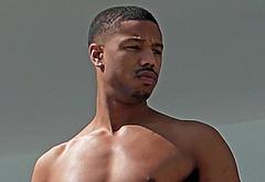 Michael B Jordan naked and sexy