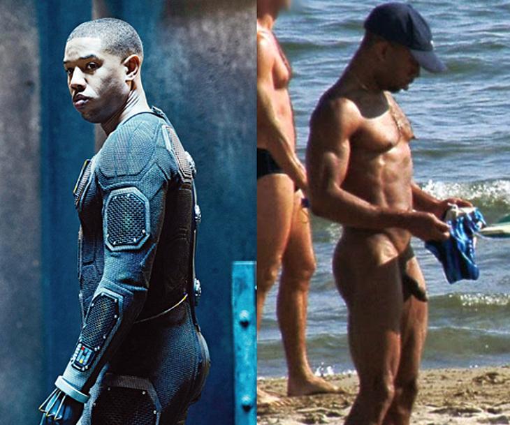 Michael B Jordan nude cock beach