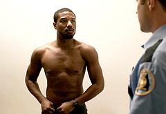 Michael B Jordan frontal nude scenes