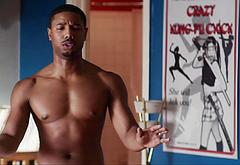 Michael B Jordan naked scenes
