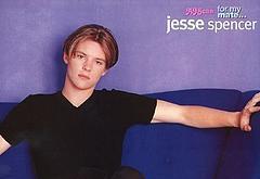 Jesse Spencer oops