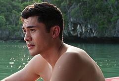 Henry Golding shirtless movie scenes