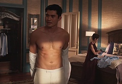 Henry Golding underwear photos